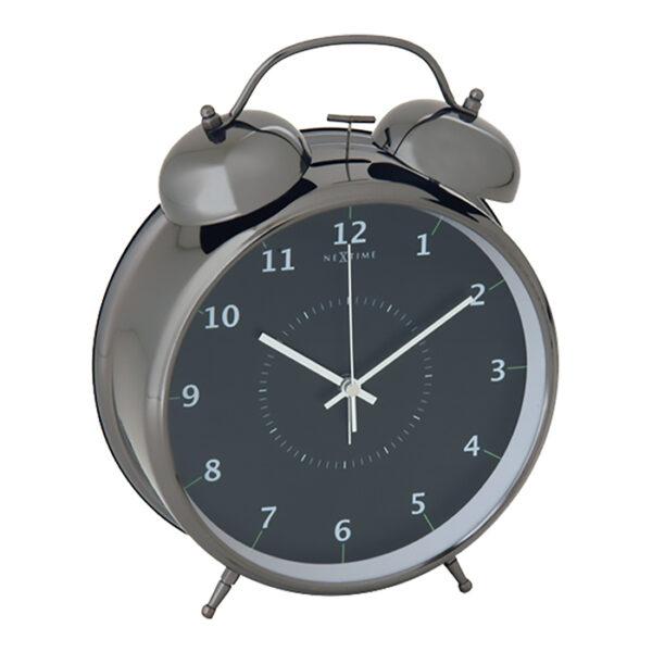 NeXtime Wake Up Sort Vækkeur (23 cm)