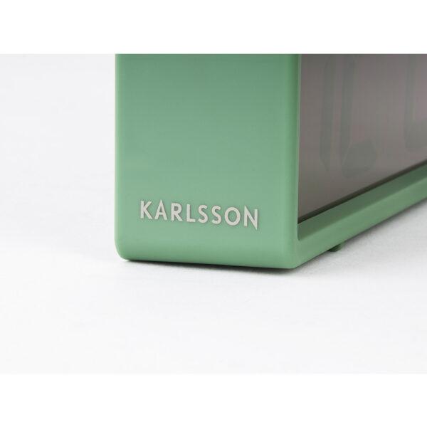 KA5646GR Karlsson Coy Gummibelagt Vækkeur (Grøn)