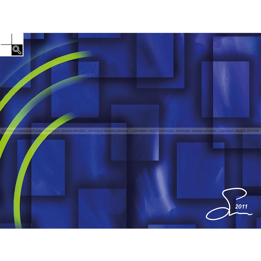 Blue boxes (40 X 30 cm)