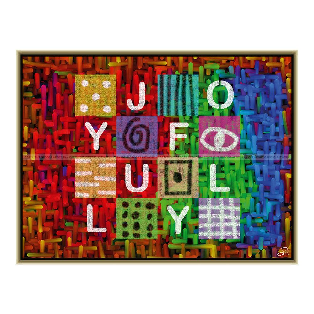 Joyfully (80 X 60 cm)