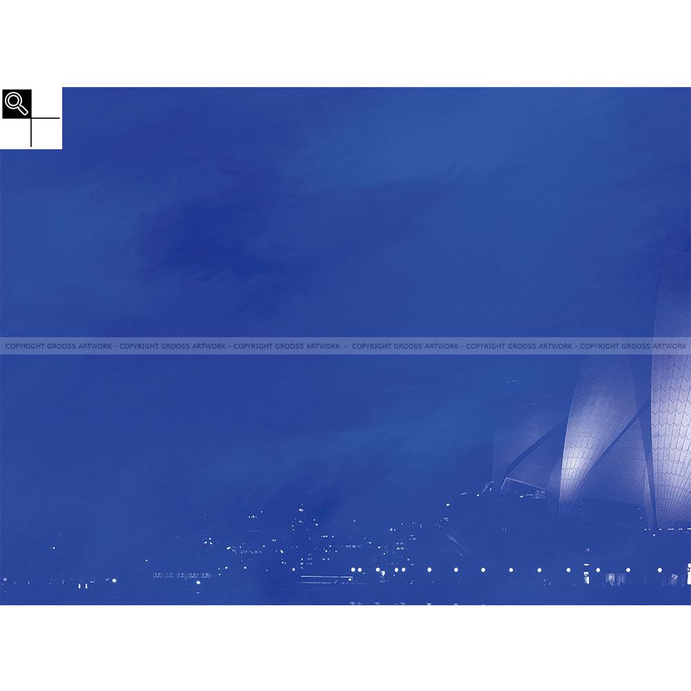 Blue sidney (80 X 60 cm)