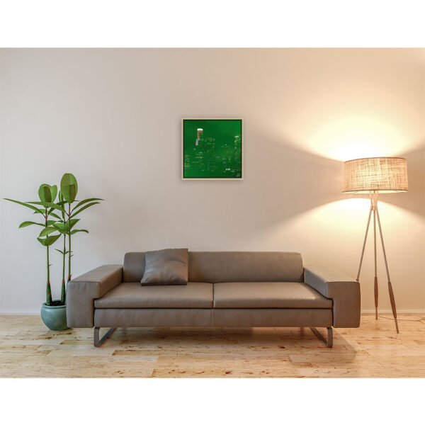 Green los angeles (50 X 50 cm)