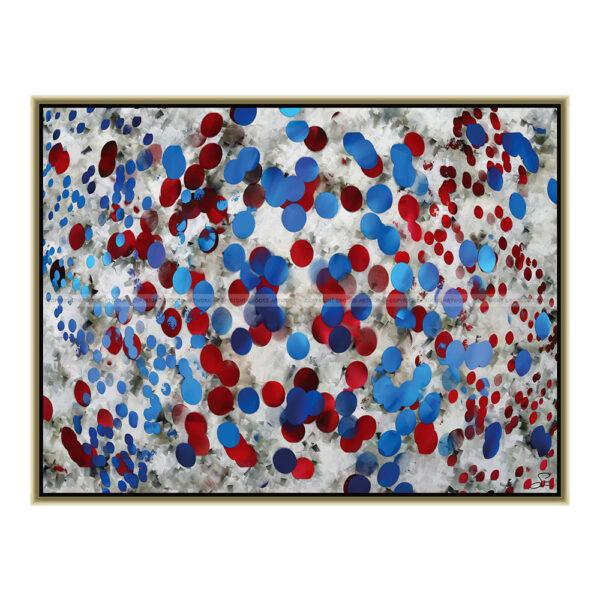 Dots (80 X 60 cm)