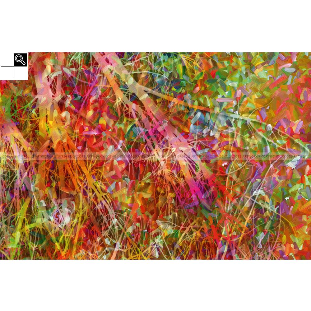 Waste colors (60 X 40 cm)
