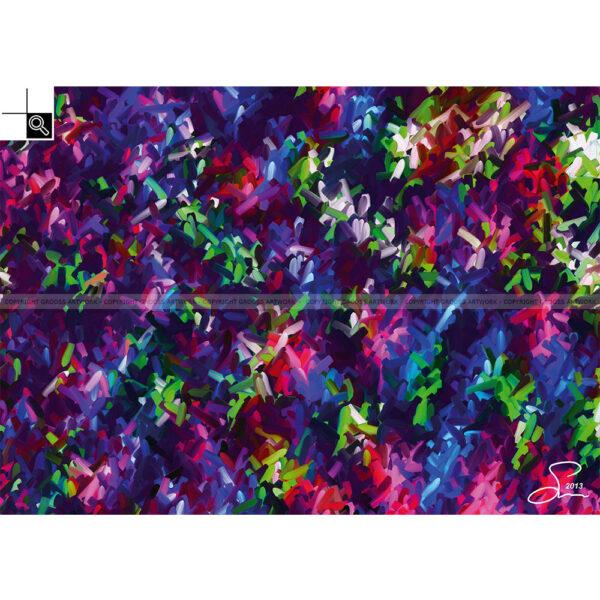 Color creek (Størrelse : 70 X 50 cm)