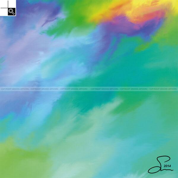 Unexplainable dream (50 X 50 cm)