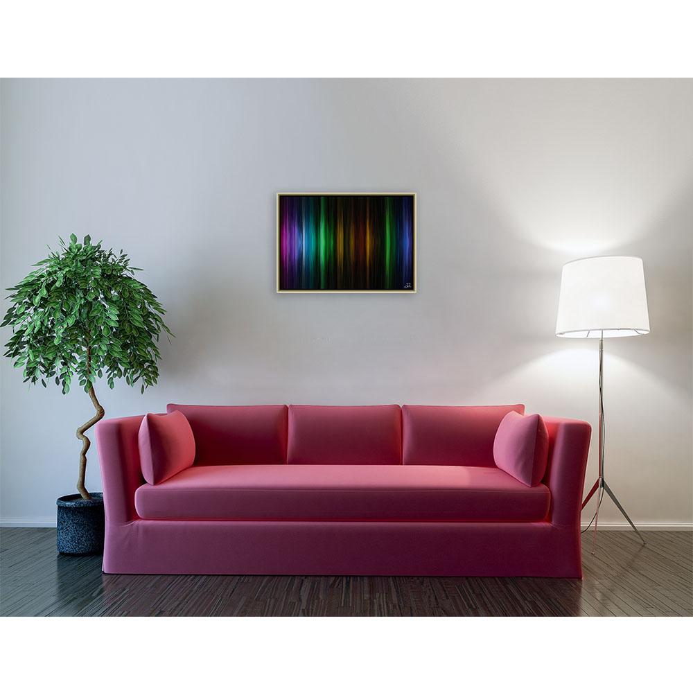 Cosmic music (70 X 50 cm)