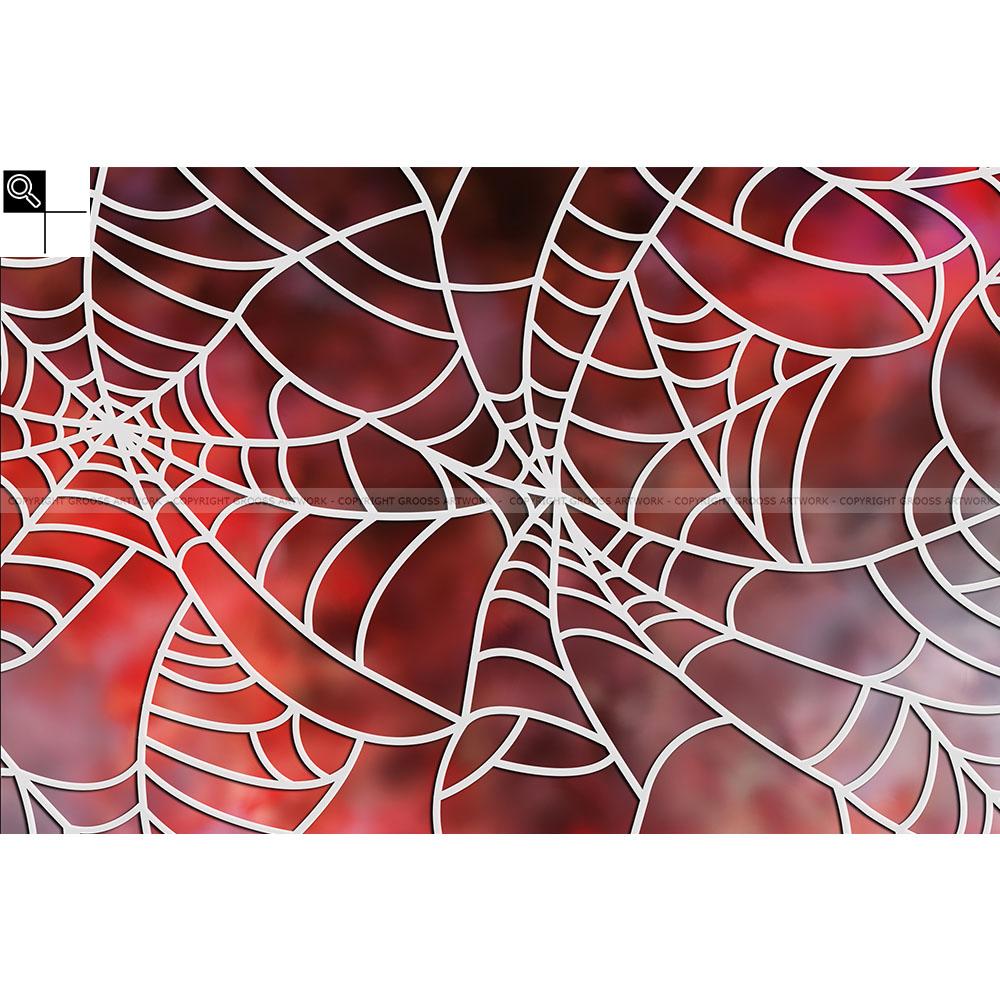 Spider on heroin (60 X 40 cm)
