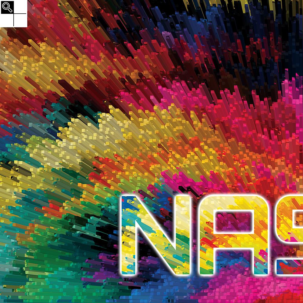 Nasty beats (50 X 50 cm)